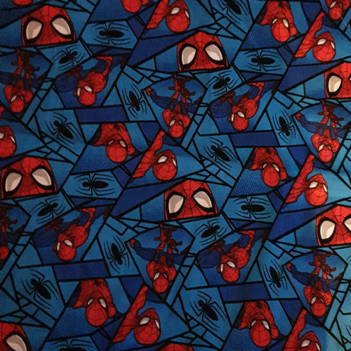 Spiderman kid's travel cushion 16 x 16 ""